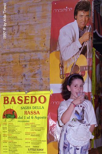 Basedo di Chions '1997: Concerto di Little Tony (1370 clic)