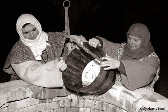 Un palcoscenico sulla scia di Bettlemme - Sesto al reghena (1942 clic)