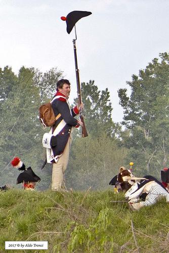 066/66. L'esultanza di un soldato napoleonico - Valvasone (247 clic)