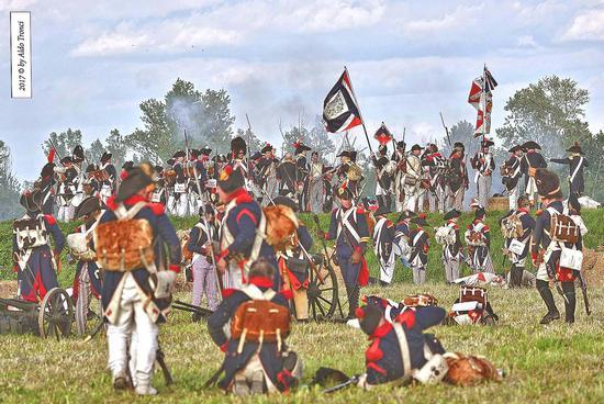 064/66. Il sopravvento delle truppe napoleoniche - Valvasone (196 clic)