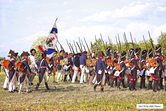 050/66. L'avanzata delle truppe napoleoniche verso la battaglia finale - VALVASONE - inserita il 01-Aug-18