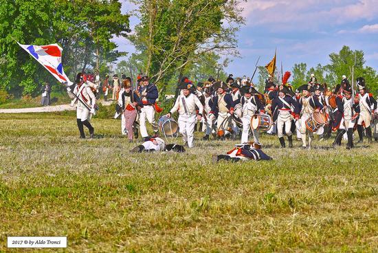 039/66. Ritirata delle truppe napoleoniche - Valvasone (292 clic)