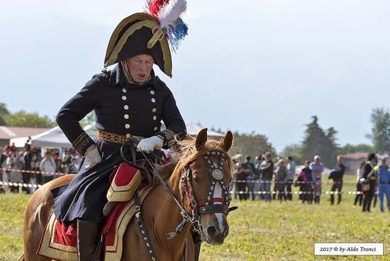 013/66. Generale napoleonico, impersonato dal russo Oleg Sokolov - Valvasone (174 clic)