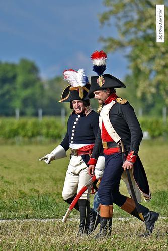 010/66. Napoleone Bonaparte, impersonato dall'americano Mark Scheider - Valvasone (261 clic)