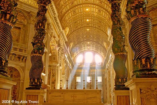 Roma: San Pietro, 2 agosto '2008 (1758 clic)