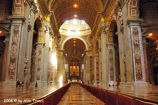 Roma: San Pietro, 2 agosto '2008 (1366 clic)