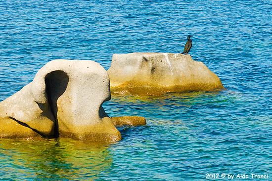 020/25. Golfo di Marinella: Graniti plasmati dal tempo, ovvero ... quando la natura si diverte - Porto rotondo (1039 clic)