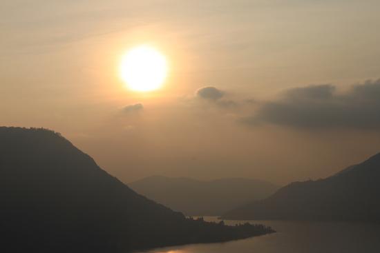 tramonto - Lezzeno (1389 clic)