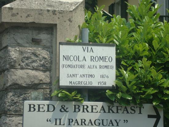 Ing. Nicola Romeo, fondatore dell'Alfa-Romeo - Sant'antimo (3203 clic)