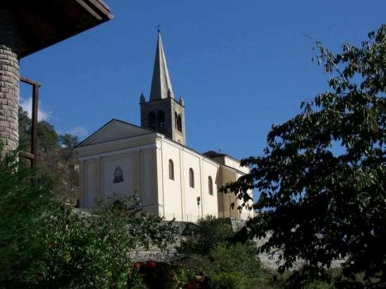 La chiesa di Nus (3319 clic)