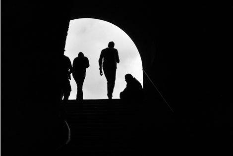 Mendicante a San Pietro in Vincoli - ROMA - inserita il 08-Jan-11