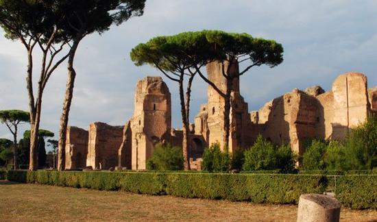 Terme di Caracalla - Roma (1959 clic)
