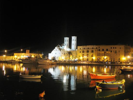 Molfetta....notturna del porto (490 clic)