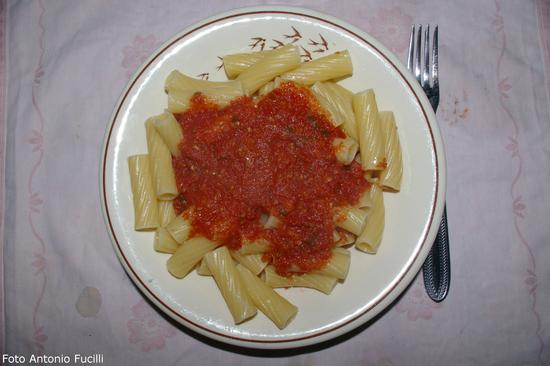 Pasta al sugo - Ruvo di puglia (1369 clic)