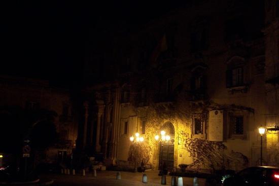 Teatro Pirandello di notte - Agrigento (2788 clic)