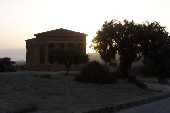 Tempio della concordia al tramonto - Agrigento (2425 clic)
