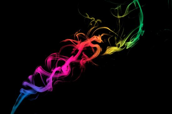 Il Fumo con Gradiente di Colore - Macerata (3040 clic)