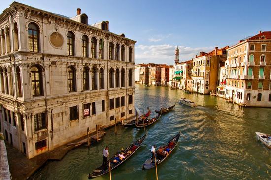 Il Canal Grande - Venezia (4931 clic)