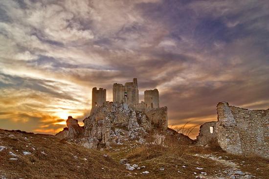 Tramonto sulla Rocca - Calascio (6504 clic)