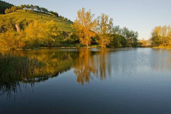 Laghetto di Colfiorito  - Sant'anatolia di narco (2116 clic)