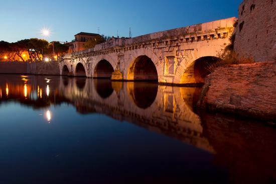 Ponte Tiberio - Rimini - (4310 clic)