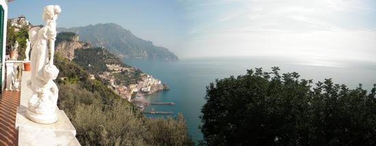 vista dall, holiday house 'le palme' - Amalfi (2492 clic)