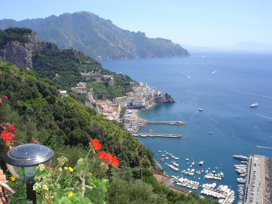 vista dall, holiday house 'le palme' - Amalfi (2324 clic)