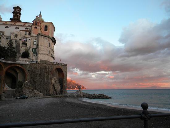 vista dal ristorante 'Le Palme' - Atrani (3486 clic)