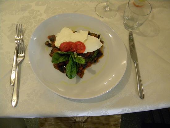 piatto dello chef Armando ristorante 'Le Palme' Atrani (2350 clic)