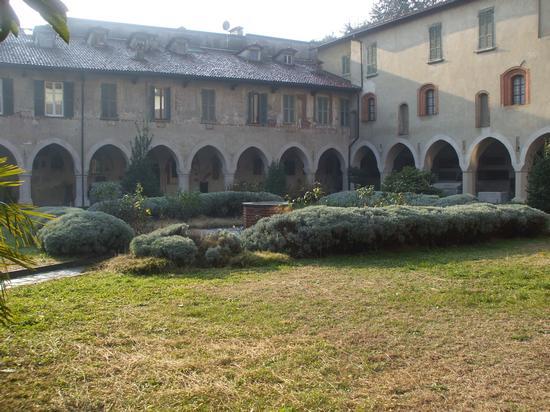 quadriportico della Canonica, autunno - Novara (2944 clic)