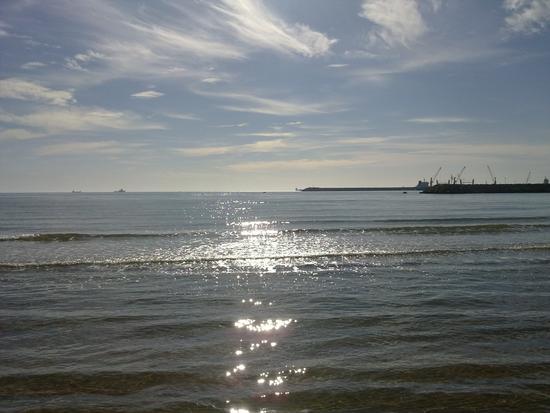 controluce, spiaggia di Raganzino - Pozzallo (5456 clic)