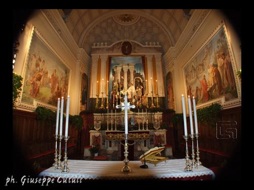Presepe in Parrocchia - San giovanni la punta (3901 clic)