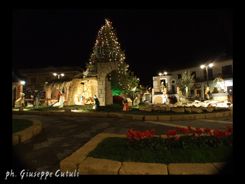 Presepe in Piazza - San giovanni la punta (2805 clic)