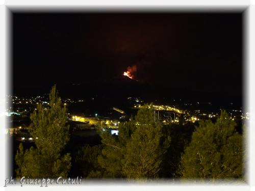 Eruzione Etna - Trecastagni (1242 clic)
