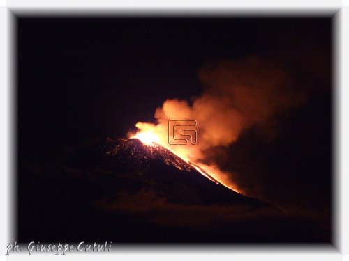 Eruzione Etna - SAN GIOVANNI LA PUNTA - inserita il 09-Jan-14