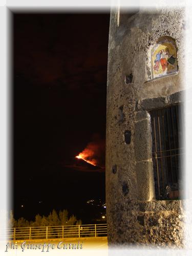 Eruzione Etna - Trecastagni (1155 clic)