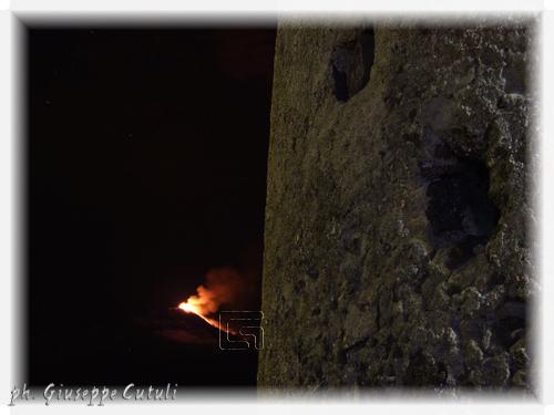 Eruzione Etna - Trecastagni (1309 clic)