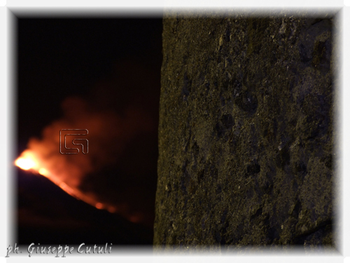 Eruzione Etna - Trecastagni (1150 clic)