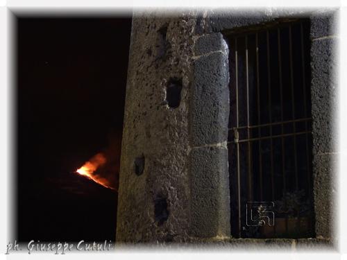 Eruzione Etna - Trecastagni (1214 clic)