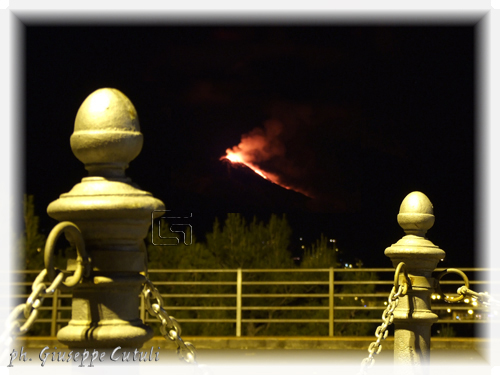 Eruzione Etna - Trecastagni (1121 clic)