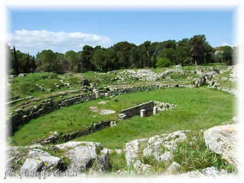 Anfiteatro Romano - Siracusa (1979 clic)