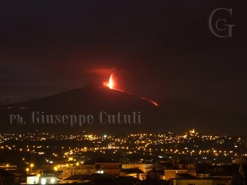 Etna in eruzione (2356 clic)