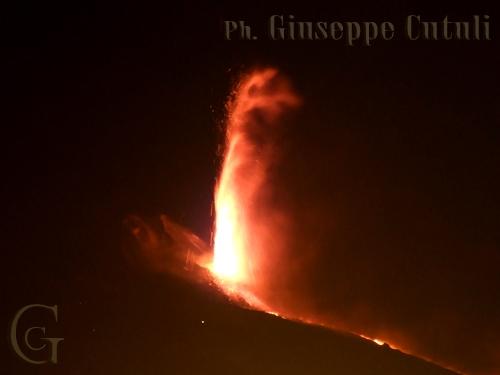 Etna in eruzione (2267 clic)