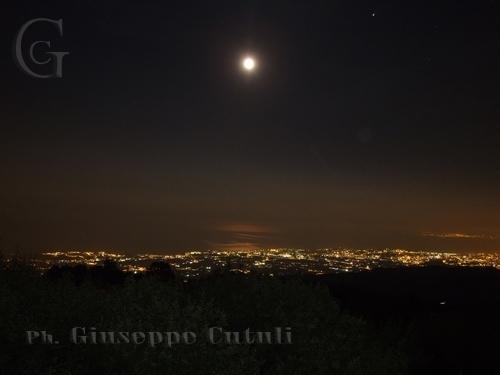 Vista Notturna - Etna (3373 clic)