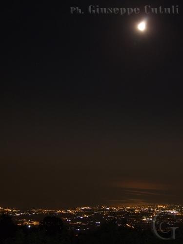 Vista Notturna - Etna (2781 clic)
