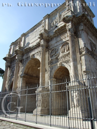 Arco di Costantino - Roma (2002 clic)