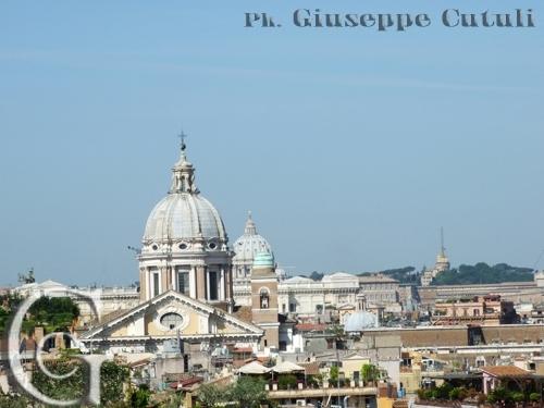 Trinità dei Monti - Roma (2067 clic)