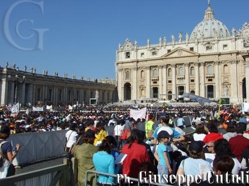 Piazza San Pietro - Roma (2082 clic)