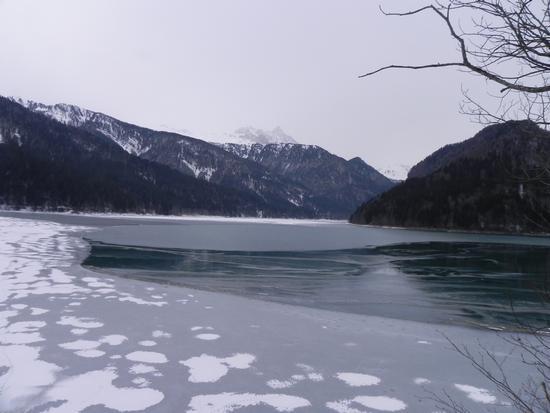 sauris-il lago ghiacciato (2364 clic)