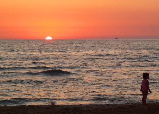 Tramonto 1 - Punta braccetto (2784 clic)